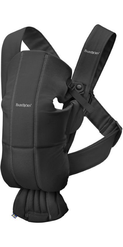 b5cc5ef9bea Buy BabyBjorn Baby Carrier Mini Black Cotton from Canada at Well.ca - Free  Shipping