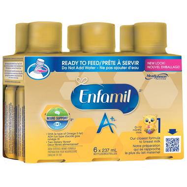 Enfamil A+ Ready to Feed Bottles