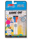 Melissa & Doug Write On Reusable Games