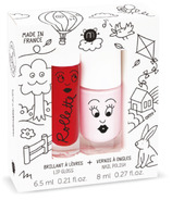 nailmatic Holidays Rollette Nail Polish Duo Pink Set