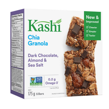 Kashi Dark Chocolate, Almond & Sea Salt Chia Granola Bar