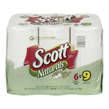 Scott Naturals Choose-A-Size Paper Towels