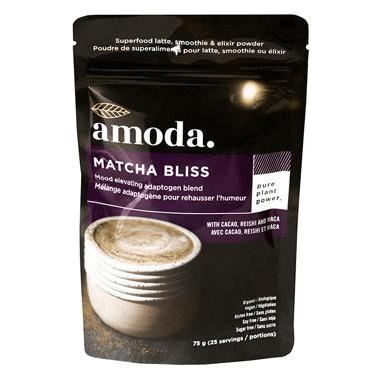 Amoda Matcha Bliss Uplifting Blend with Cacao, Reishi & Maca