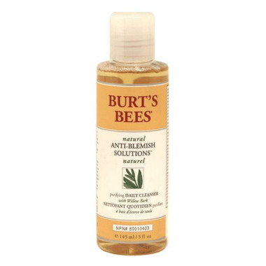 Burt\'s Bees Natural Anti-Blemish Solutions Purifying Cleanser