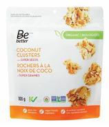 Be Better Organic Coconut Clusters with Super Seeds