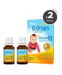 Ddrops Baby Liquid Vitamin D3 Bundle