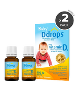 Ddrops Baby Liquid Vitamin D3 Bundle