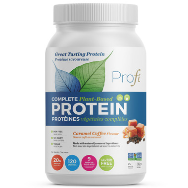 Profi Plant-Based Protein Powder Caramel Coffee