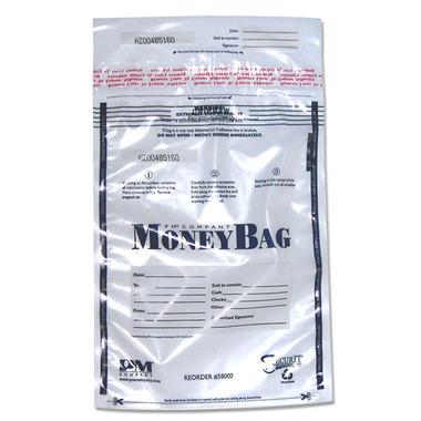PMC Plastic Disposable Deposit Bag