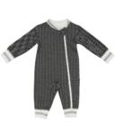 Juddlies Organic Cottage Sleeper Bear Black