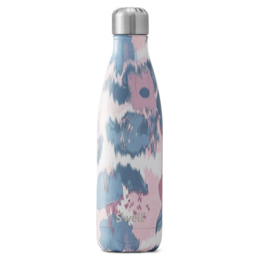 S\'well Stainless Steel Water Bottle Watercolor Lilies