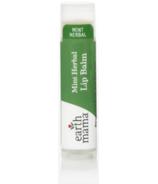 Earth Mama Organics Herbal Mint Lip Balm