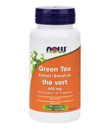 NOW Foods Extrait de thé vert 400mg