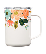 Corkcicle Coffee Mug Rifle Paper Co. Lively Floral Gloss Cream
