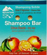 Mountain Sky Citrus Dazzle Shampoo Bar