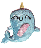 Fashion Angels Magic Sequins Plush Narwhal