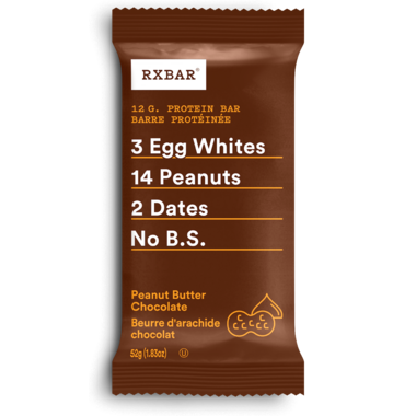 RXBAR Real Food Protein Bar Peanut Butter Chocolate
