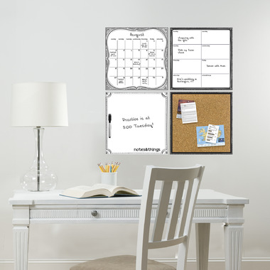 WallPops White Dry Erase Organization Kit
