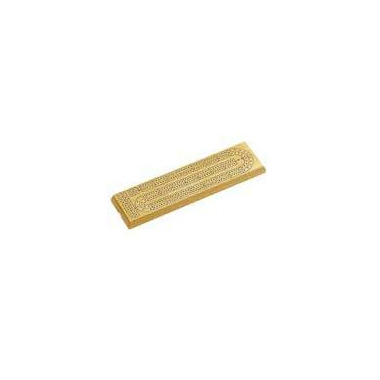 2 Track Natural Wood Cribbage Board