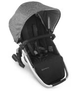UPPAbaby VISTA V2 Rumbleseat Jordan Charcoal Melange Silver Black Leather