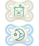 Mam Perfect Night Pacifier Blue 0-6 Months