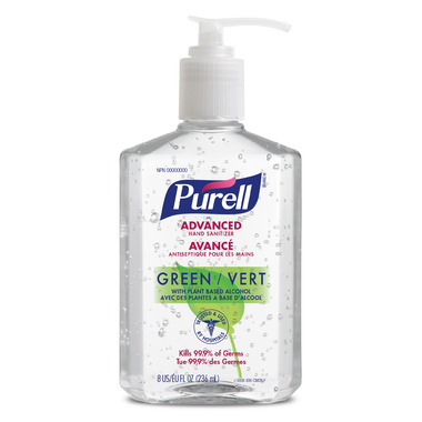 Purell Advanced Green Hand Sanitizer Pump