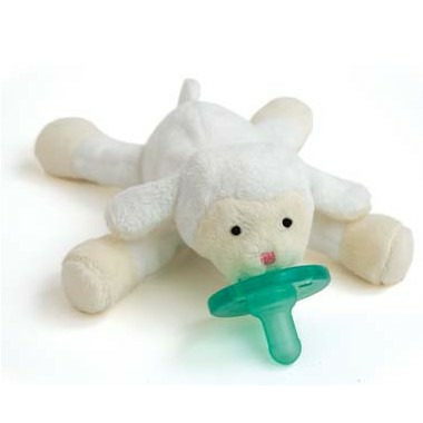 WubbaNub Lamb Plush Pacifier