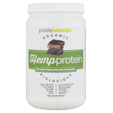Prairie Naturals Organic HempProtein Dark Chocolate