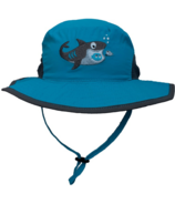 Calikids Bucket Hat with Shark Turquoise
