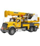 Bruder Toys Mack Liebherr Crane Truck