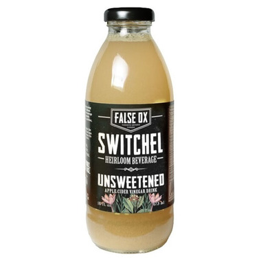 False Ox Switchel Unsweetened Beverage