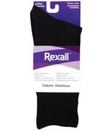 Rexall Ladies Dress Crew Diabetic Socks