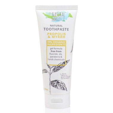 The Natural Family Co. Propolis & Myrrh Toothpaste