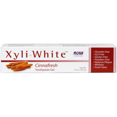 NOW Solutions XyliWhite Cinnafresh Toothpaste Gel