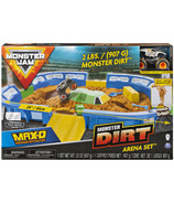 Monster Jam Dirt Arena Playset with Dirt and Truck