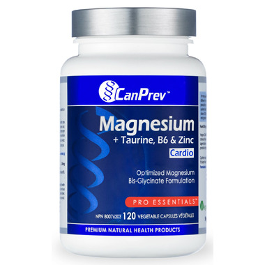CanPrev Magnesium + Taurine with B6 & Zinc