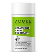 Acure Cedarwood & Mint Deodorant