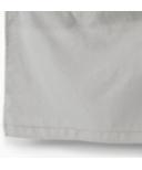 Petit Pehr Cotton Linen Crib Skirt Light Grey