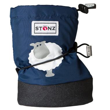 Stonz Navy Blue Sheep Booties