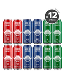 Sober Carpenter Non-Alcoholic Craft Beer Variety 12 Pack Bundle
