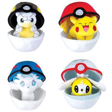 Pokemon Zipper Poke Ball Plush
