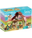 Playmobil Spirit Barn with Lucky Pru & Abigail