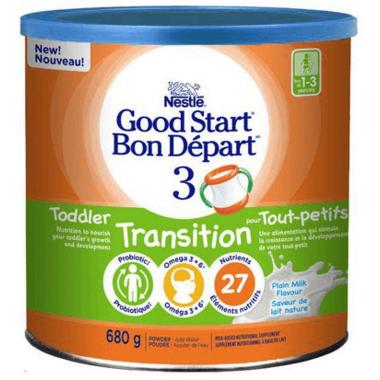 Nestle Good Start 3 Toddler Transition Milk Nutritional Supplement