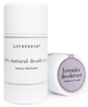 Lovefresh Lavender Natural Cream Deodorant Stick