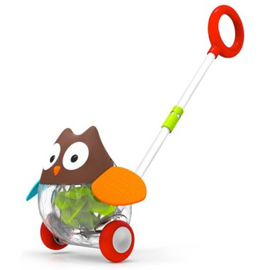 Skip Hop Explore & More Owl Push Toy