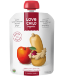 Love Child Organics Pouch Apples, Butternut Squash, Cherries, Ginger