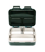 SkyeBox Leakproof Stainless Steel Bento Style Lunch Box Dark Green