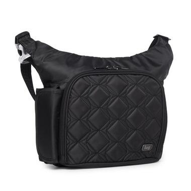 Lug Sidecar Cross Body Bag Midnight Black