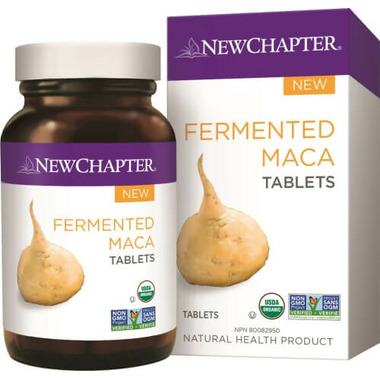 New Chapter Fermented Maca Tablets