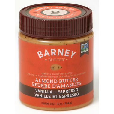 Barney Butter Vanilla and Espresso Almond Butter